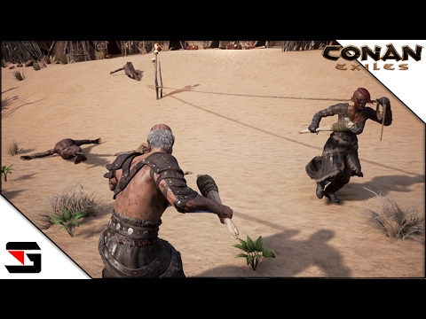 conan exiles 18 funny moments youtube. Black Bedroom Furniture Sets. Home Design Ideas
