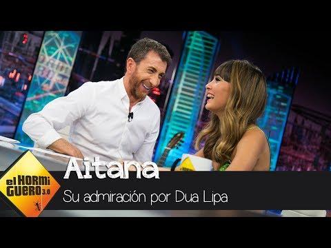 La admiración de Aitana y Pablo Motos por Dua Lipa - El Hormiguero 3.0