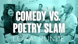 Deutsche Comedy könnte so geil sein … Comedy vs. Poetry-Slam