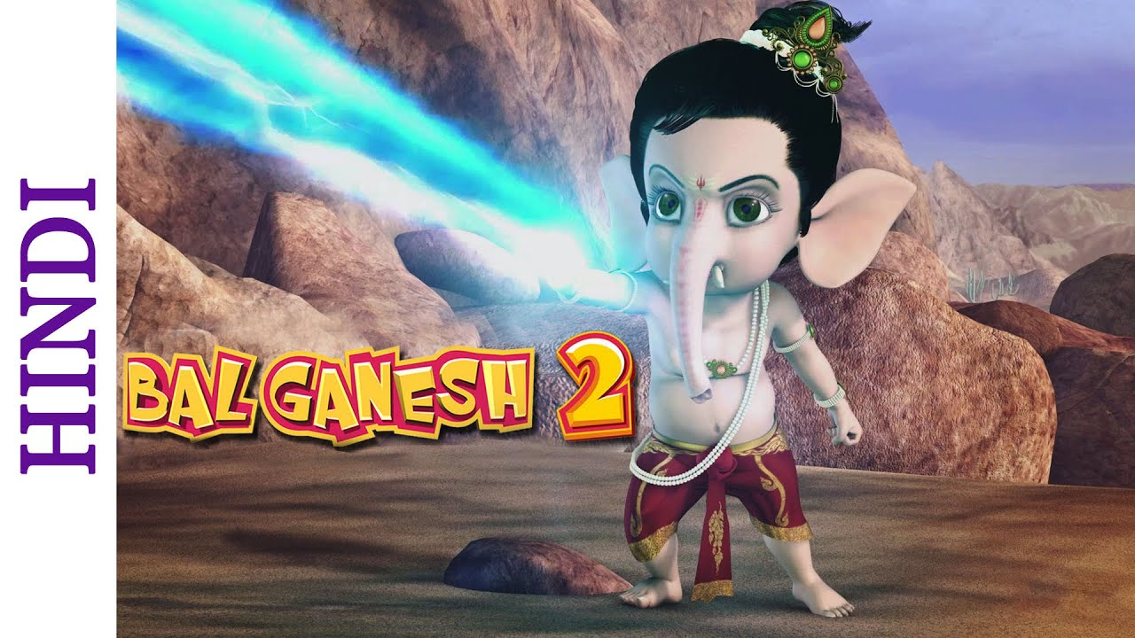 Bal Ganesh 2 Popular Bollywood Animated Action Scene