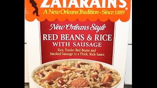 Zatarain's New Orleans Style Red Beans & Rice With Sausage Review