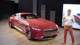 The Vision Mercedes-Maybach Unveiled At The 2016 Pebble Beach Concours D'Elegance