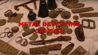 Metal detecting Canada finds 1700's/1800's and 1900's coins and relics!