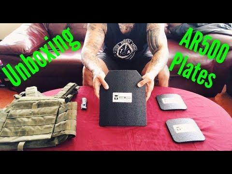 Unboxing | AR500 Armor
