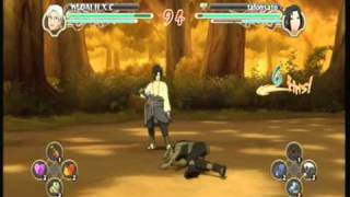 kabuto vs sasuke ultimate ninja storm 2