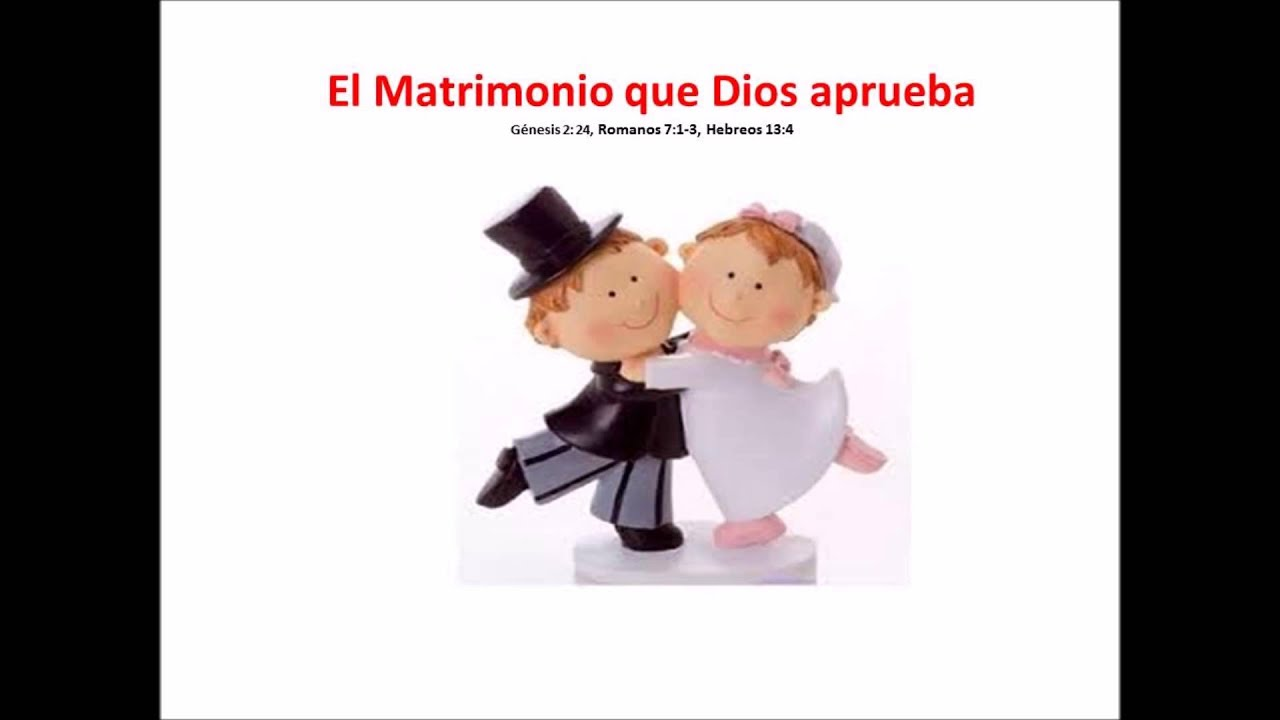 Matrimonio Q Significa : El matrimonio que dios aprueba mensaje cristiano youtube