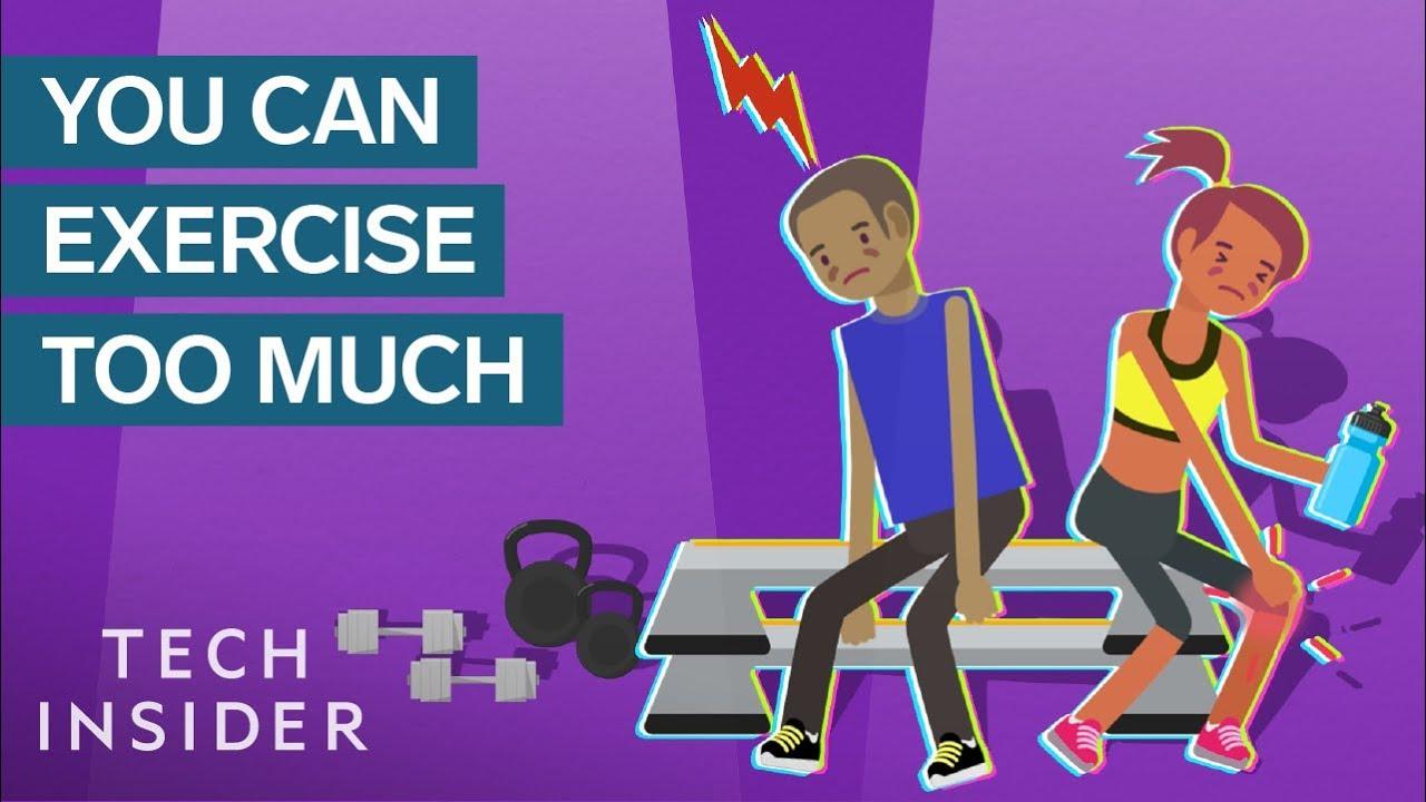 Што се случува со вашиот мозок ако вежбате премногу?
