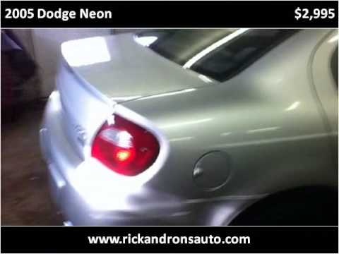 Rons Auto Sales >> 2005 Dodge Neon Available From Rick Ron S Auto Sales