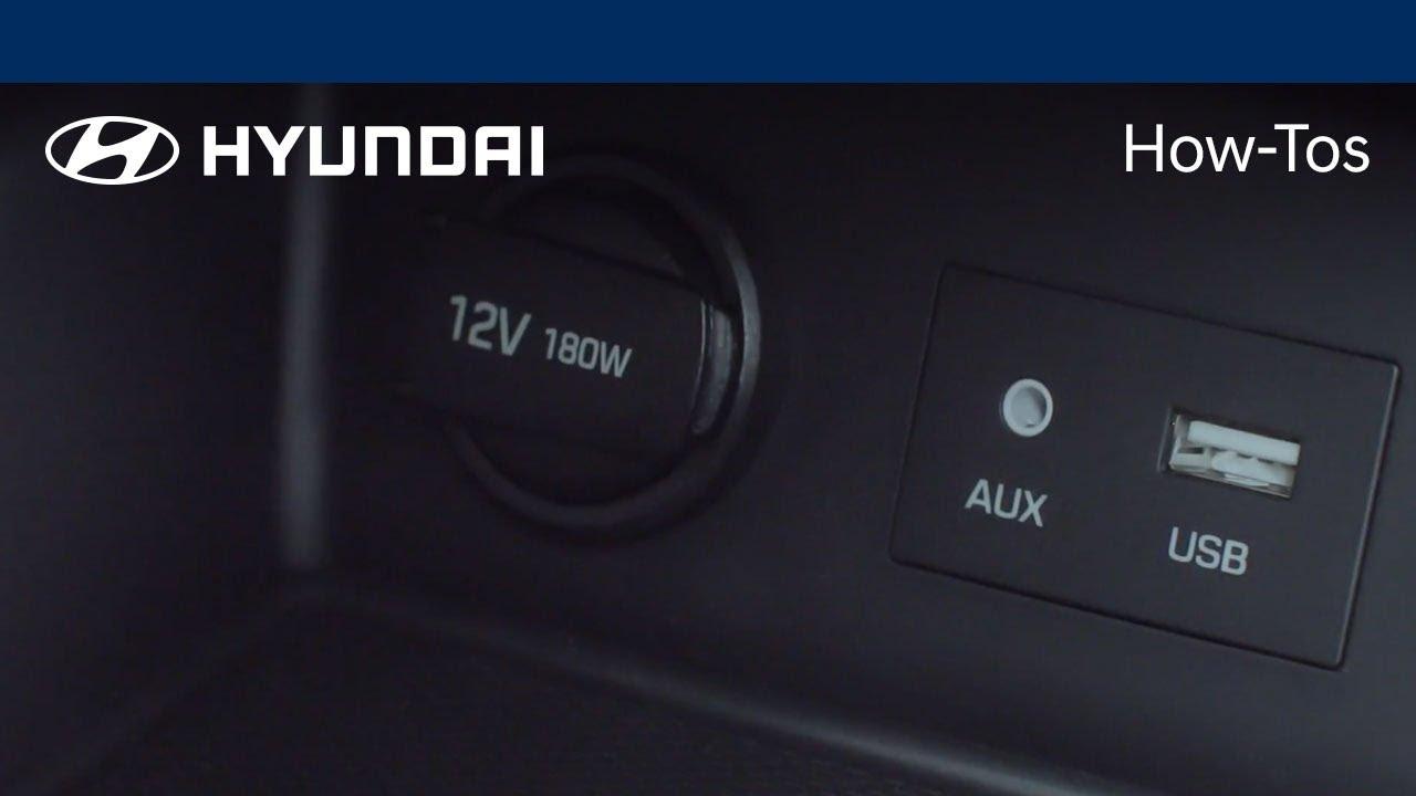 How to Use the USB Ports | Hyundai