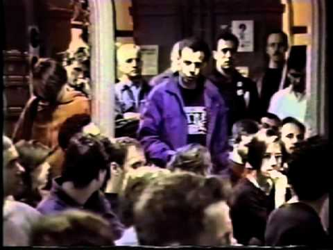 ACT UP: Ashes Action - 13 October 1996