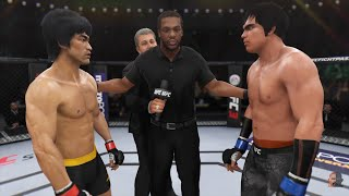 Bruce Lee Vs Takuma (Sonny) Chiba | EA Sports UFC 3