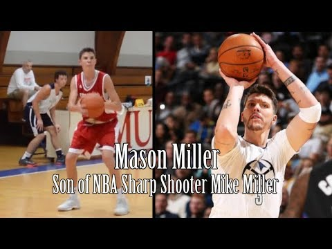 Mike Miller's Son, Mason Miller, Is A LIGHTS OUT SHOOTER