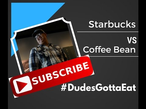 Starbucks vs The Coffee Bean: Mocha Reviews