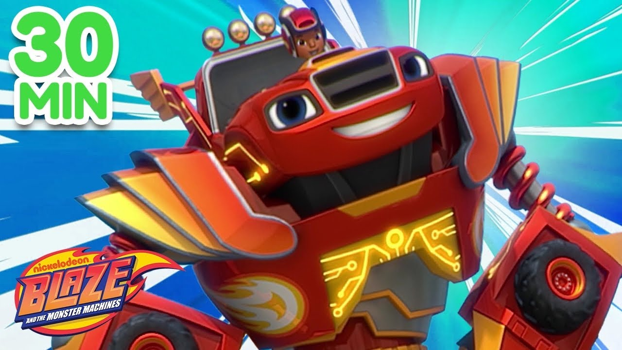 Download Blaze Saves The Day Compilation! | Blaze and the Monster Machines