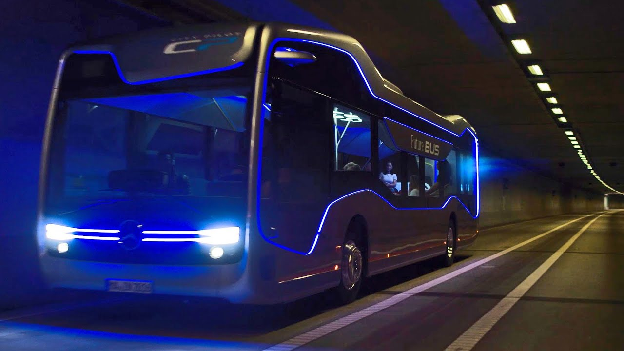 OFFICIAL Mercedes-Benz Future Bus - Of Course Autonomous!