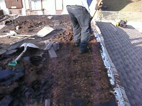 TEAR OFF FLAT ROOF ARMOR ROOFING  SHAWN OBERMANN  AMERICA NO 1 CONTRACTOR