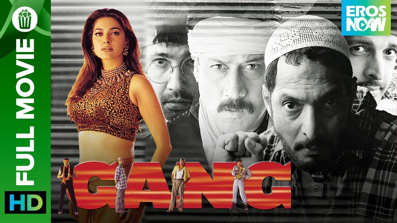 Gang Full Movie Live On Eros Now Jackie Shroff Nana Patekar Kumar Gaurav Jaaved Jaffrey