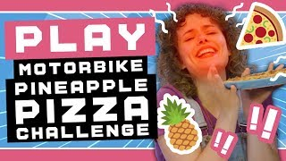 Pineapple Pizza Challenge with Nintendo Labo Toy-Con Motorbike thumbnail