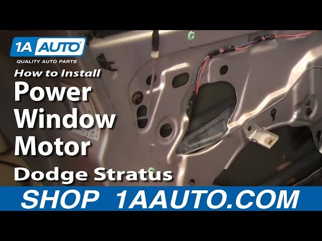 How To Replace Power Window Motor 01-06 Dodge Stratus | 1A Auto  Dodge Stratus Power Window Wiring Diagram on 2004 dodge ram 3500 wiring diagram, 1990 dodge spirit wiring diagram, 2006 dodge durango wiring diagram, 2006 dodge viper wiring diagram, 2009 dodge grand caravan wiring diagram, 2001 dodge ram 2500 wiring diagram, 2010 dodge ram 2500 wiring diagram, 1998 dodge intrepid wiring diagram, 1996 dodge grand caravan wiring diagram, 2001 dodge ram van 3500 wiring diagram, 2006 dodge ram 1500 wiring diagram, 2006 dodge ram 2500 wiring diagram, dodge stratus strut diagram, 2004 dodge ram 2500 wiring diagram, 2007 dodge magnum wiring diagram, 2001 dodge stratus fuse box diagram, 1998 dodge ram 2500 wiring diagram, 2007 dodge ram 2500 wiring diagram, 1999 dodge ram 2500 wiring diagram, 1996 dodge ram 2500 wiring diagram,