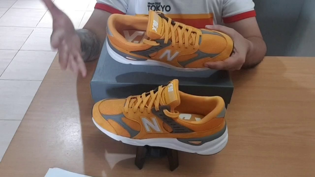 818b2c0693600 New Balance X90 review & on foot - Good Buy! - YouTube