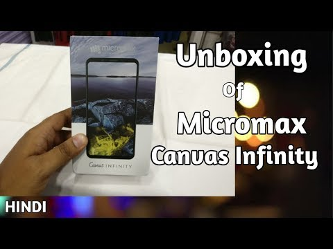 Micromax Canvas infinity unboxing HS2