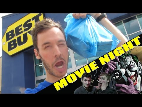 Blu-ray Hunting & Movie Night: The Killing Joke