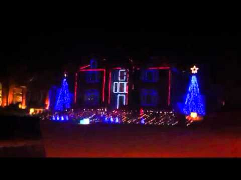 Amazing Christmas Light Display (Deerfield, Plano, TX) - YouTube