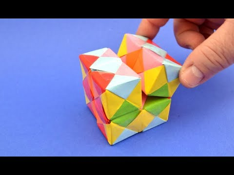 How To Make An INFINITY CUBE Out Of Paper
