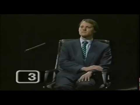 Sherlock Holmes -  Mastermind -  BBC Quiz Show - Magnus Magnusson