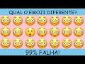 Gambar cover qual é o emoji diferente - encontre o emoji diferente em 20 segundos! #acheoerro #topemoji