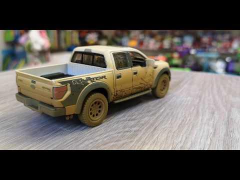 Машинка 100% копия настоящего Ford Raptor