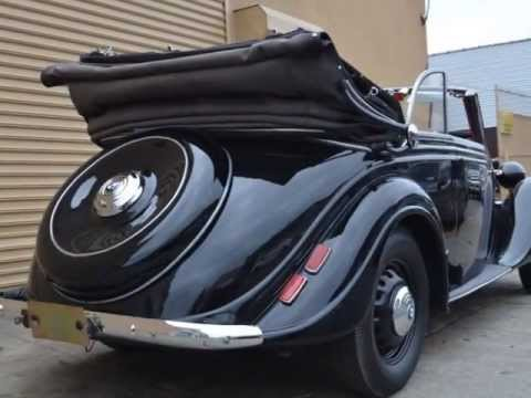 1939 BMW 326 Convertible Priced very reasonably at just $97,500 ...
