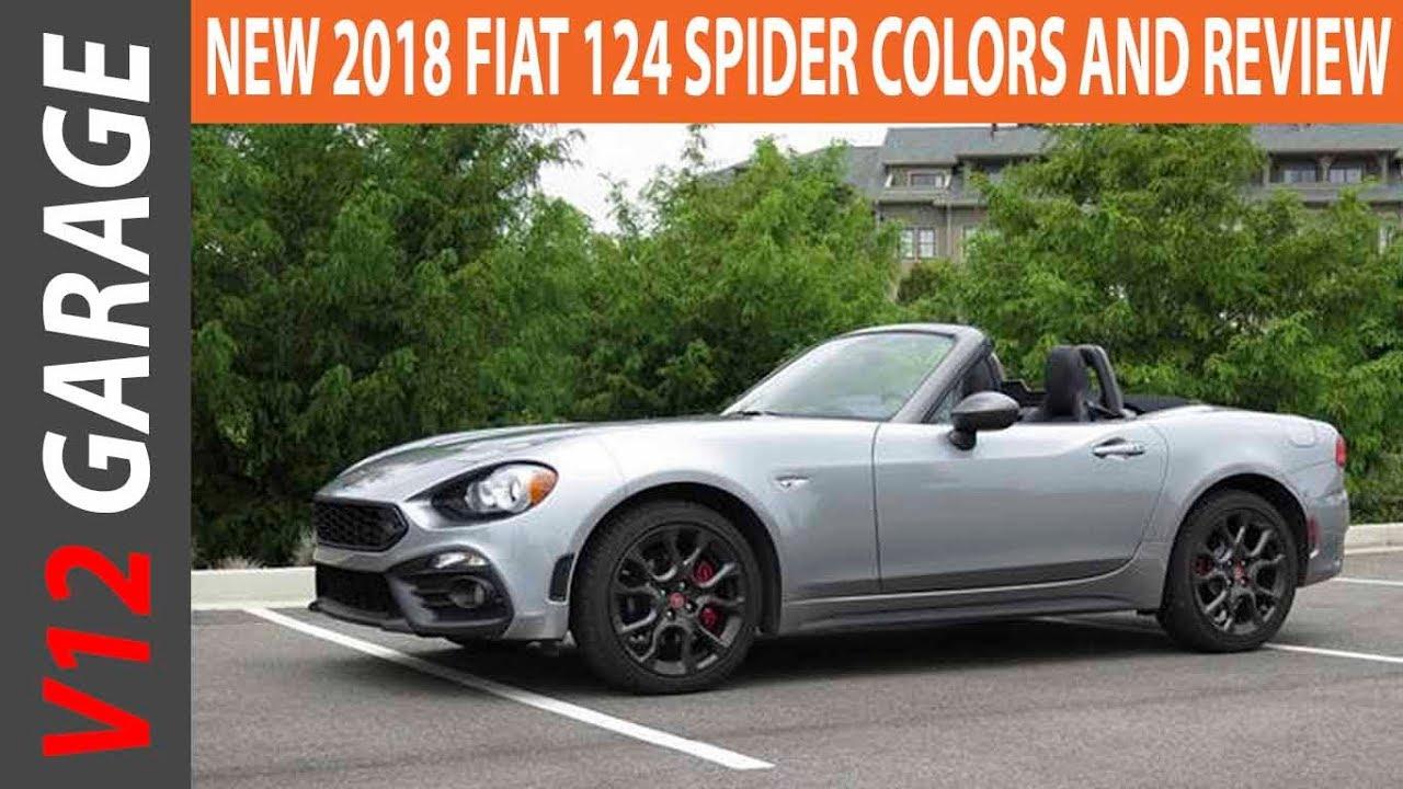 Fiat spider colors