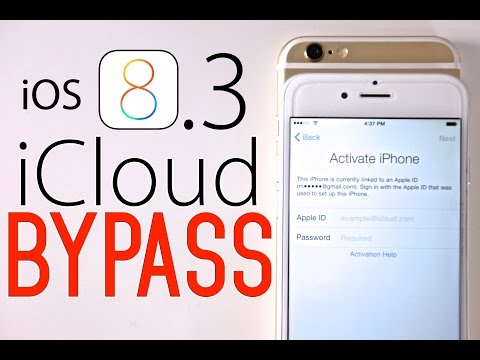 How To Bypass iCloud Activation Lock on iOS 8 / 8.3 / 8.4