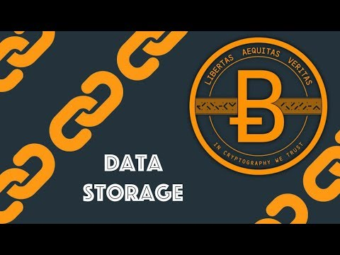 Data Storage [Blockchain & Cryptocurrency (Bitcoin, Ethereum)]