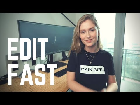 EDIT FASTER! How Professional Editors Set Up Their Premiere Session to SAVE YOU TIME