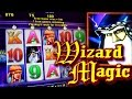 WIZARD MAGIC BONUSES + Quick Hit Fever !!! 5c Aristocrat & Bally Video Slots