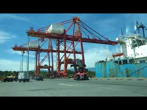 SANY STS Container Cranes Successfully Delivered to Port of Moin, Costa Rica