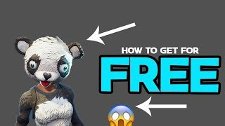 Comment obtenir Panda Team Leader GRATUIT 😱 Fortnite FREE Skin (en)