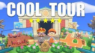 Check Out This COOL 5 Star Island Tour! | Bait Shop, Asian Restaurant, | ACNH