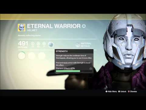 Destiny Eternal Warrior Helmet