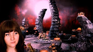 How to build Tyranid Terrain while slowly being devoured by a hive mind from within