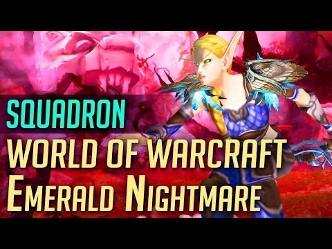 The Emerald Nightmare, 20-Man Normal | TGN Squadron WoW Guild Raid Night | World of Warcraft: Legion