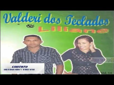 Valderi dos Teclados e Liliane - CD Completo - Vol.: 14