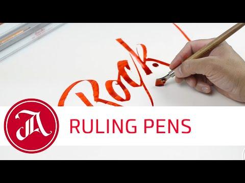 Ruling Pens