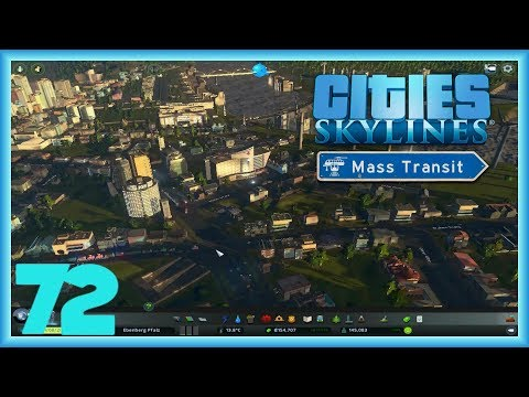 Neuer Tunnel -  Let's Play Cities Skylines Mass Transit [Deutsch/German]#72
