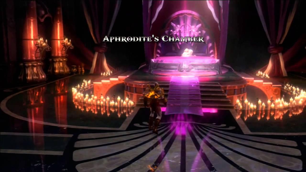God Of War III GOW 3 Walkthrough Part 23 Aphrodites Chamber PS3