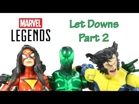The Marvel Legends Let Downs Part 2 Stop Motion Animation Series By ShartimusPrime