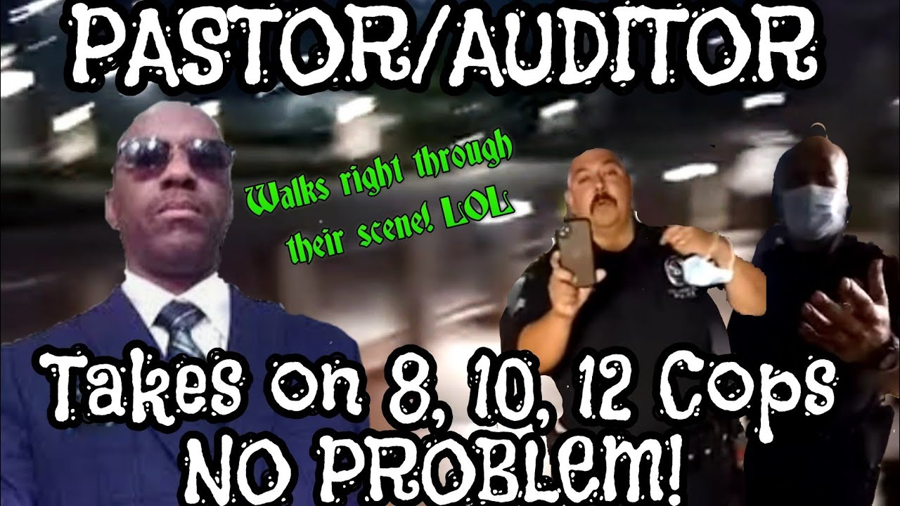 PASTOR HAS A CALLING FINDS COPS NOT OBEYING THE EXECUTIVE ORDERS THAT THEY TRY TO ENFORCE!