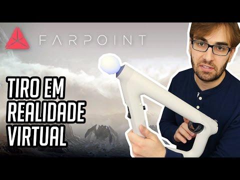 JOGO DE TIRO NO PLAYSTATION VR - Gameplay de Farpoint, em Português PT-BR!